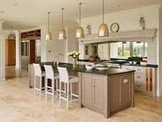 A unique, stunning approach to a classic white kitchen. Be inspired by Fresh Start a Sub-Zero, Wolf, and Cove Transitional Kitchen Design Contest Finalist. Simple Kitchen Design, Beautiful Kitchen Designs, Contemporary Kitchen Design, Beautiful Kitchens, Living Room Kitchen Paint Ideas, Kitchen Living, Kitchen Decor, Kitchen Ideas, Kitchen Wood