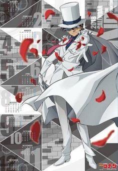Me Me Me Anime, Anime Guys, Manga Anime, Kaito Kuroba, Kaito Kid, Gosho Aoyama, Detective Conan Wallpapers, Detektif Conan, Kudo Shinichi