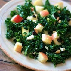 Kale and Feta Salad Allrecipes.com