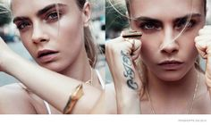 CARA DELEVINGNE WEARS STREET STYLE FOR PENSHOPPE SPRING '15 ADS