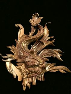 А :разное Fish Sculpture, Bronze Sculpture, Wood Sculpture, Wax Carving, Carving Designs, Rococo Style, Acanthus, Picture On Wood, Architectural Elements