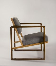 Josef Albers, 1928.  Bauhaus chair, Iconic Furniture Design, Historic Furniture.
