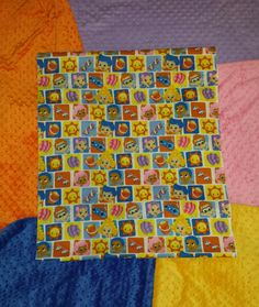 Toddler Blanket Bubble Guppies with your Choice of by BabyBedtime, $45.65