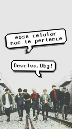 ||BTS||  Wallpaper #Balãozinho