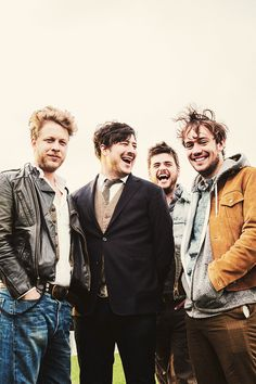 Mumford and sons. How I love them