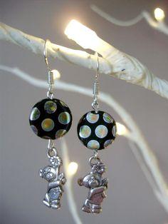Check out this item in my Etsy shop https://www.etsy.com/listing/466488103/teddy-bear-earrings-polka-dot-earrings