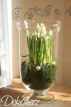 Beautiful spring decoration Best Picture For garden decoration indoor For Your Taste You are looking for something, and it is going to tell you exactly what you are looking for, and you didn't find that … Ikebana, Garden Bulbs, Deco Floral, Christmas Decorations, Holiday Decor, Spring Decorations, Deco Table, Decoration Table, Easter Crafts