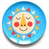Sunshine Melamine Plate