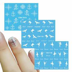Aliexpress.com : Buy ZKO 1 Sheet Beautiful Dance Girl Optional Nail Art Charm DIY Watermark Decals Nail Art Sticker NEW Polish Decor from Reliable polish decoration suppliers on Cece Nail Art Store