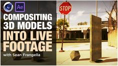 Compositing Models into Footage with Cinema & After Effects - Tutorial, Sean Frangella Tutorial Sites, 3d Tutorial, Tutorials, Motion Design, Cgi, After Effects 3d, Cinema 4d Tutorial, Projection Mapping, 3d Models