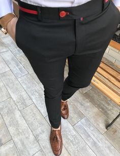 Product number brand name Carbonhotshop Style conventional Size 30 31 32 33 34 Outseam (inch) Waistband (inch) Outseam (cm) 103 106 Waistband (cm) 78 82 86 90 94 Nigerian Men Fashion, Indian Men Fashion, Mens Fashion Suits, Formal Men Outfit, Formal Pants, Moda Men, Designer Suits For Men, Stylish Mens Outfits, Casual Shirts