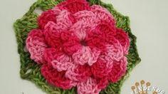 YouTube Crochet Motifs, Crochet Mandala, Crochet Chart, Crochet Stitches, Crochet Patterns, Granny Square Häkelanleitung, Granny Square Crochet Pattern, Crochet Flower Tutorial, Crochet Flowers