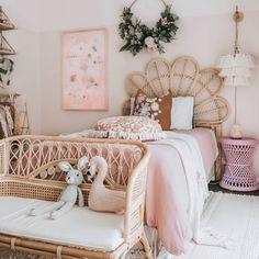 Big Girl Bedrooms, Little Girl Rooms, Hippie Bedrooms, My New Room, Bedroom Decor, Room Decor Boho, Girl Room Decor, Bedroom Apartment, Nursery Decor