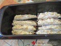 Σαρδέλες γεμιστές συνταγή από Ναυσικά - Cookpad Chicken, Meat, Food, Essen, Meals, Yemek, Eten, Cubs