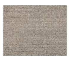 Chunky Wool & Jute Rug - Gray | Pottery Barn