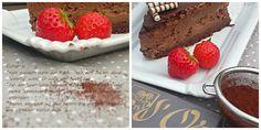 New York Chocolate-Cheesecake #ichbacksmir #kaesekuchen