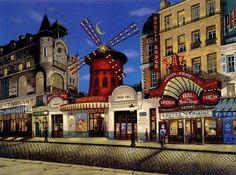 Montmartre. Liudmila Kondakova. Peintre naïf et mystique ...