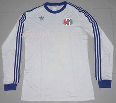 4ba0cbb18 Iceland 1982-1985 AWAY Football Shirt Soccer Jersey S Adidas Retro