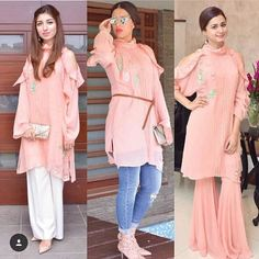 Grab our new favourite coral chiffon peek a boo tunic paired in 3 ways at our Karachi exhibition on sept 5th. #ansabjahangirstudio #eid #eidexhibtion #sept5 #markyourcalenders #stylespotting #exhibitionalert #karachiexhibition #lahore #dubai #toronto #islamabad #houston #london #pakistanifashion #easternwear #luxurypret