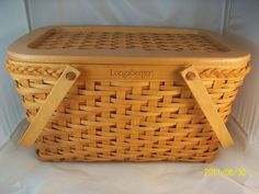 My favorite Longaberger basket. The founders basket