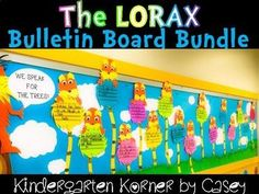 Create an AMAZING Earth Day Display with this Lorax Bulletin Board Bundle - the perfect companion lesson to use with Dr. Seuss' book, The Lorax. The Truffala tree-like templates include 8 differentiated writing formats to accommodation writing abilities from kindergarten through 4th grade!