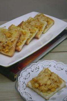 Roti Panggang Jagung Keju