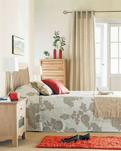 #VISION: Use similar sheet as bedspread!   Wardrobes designs for small bedrooms