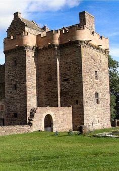 Melgund Castle, Angus, Scotland Scotland Castles, Scottish Castles, Tower House, Castle House, Castle Ruins, Medieval Castle, Castles To Visit, Unusual Buildings, England And Scotland
