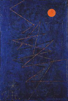 Paul Klee. Rayo Multicolor. 1927.