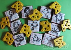 Diary of a wimpy kid cookies