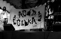 Acid Clika en Universidad Autónoma de Colombia, 2016. Fotografía: Laura Martínez Benítez