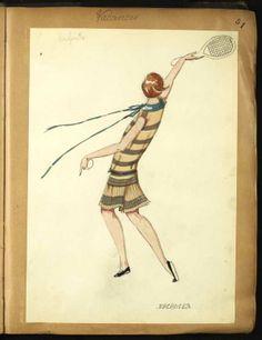 VACANCES 1926 © Patrimoine Lanvin. #Lanvin125