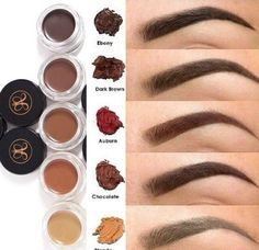 Como elegir tu color de cejas