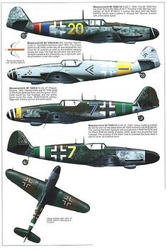 Bf 109 G, G12 and K variants (11) | GLORY. The largest archive of german WWII images | Flickr