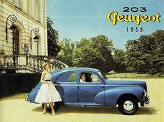 Peugeot 203 Berline - Sales brochure 1958