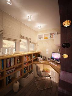 Choosing the Ideal Office Desk: Simple Office Desk Design ~ Office