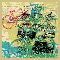 Bellum Apparatus by Jared Connor #bicycles #print # art