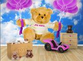 Personalised Wall Coverings - Kids Wallpaper - My Big Ted