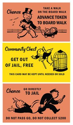 Monopoly/Boardwalk Barmitzvah Signs by Sarah Brown, via Behance