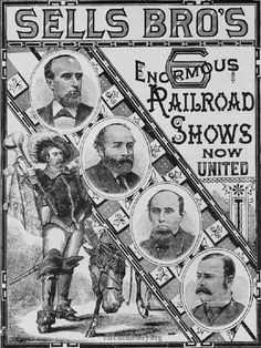 Sells Brothers Circus Poster