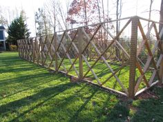 A garden fence keeps deer and other animals away!