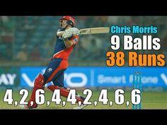 Chris Morris 38 Runs in just 9 balls vs Rising Pune Supergiants : Funsag...
