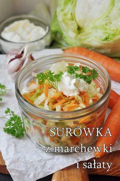 Przepisy na surówki do obiadu - Damsko-męskie spojrzenie na kuchnię Salsa, Curry, Ethnic Recipes, Food, Curries, Essen, Salsa Music, Meals, Yemek