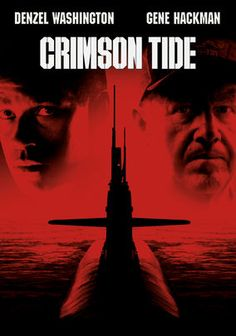 Crimson Tide - What happens when principles and education goes head to head with experience. Washington and Hackman lock horns over a fragmented message that spur a takeover to determine whether the sub should launch it's ICBM's . Denzel is rockin in this flick!