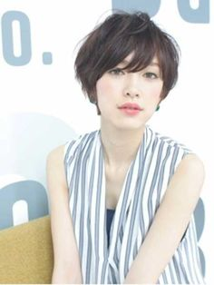 20 Pretty Short Asian Hairstyles | http://www.short-haircut.com/20-pretty-short-asian-hairstyles.html