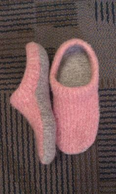 Felted Clogs made Easy! fast slippers..