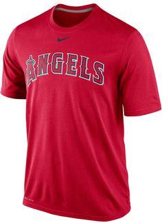 1e6aa0ec Nike Men's Los Angeles Angels of Anaheim Legend T-Shirt - Red S