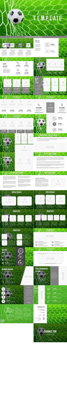 Cycling Training Powerpoint Template is a free spinning or cycling - football powerpoint template
