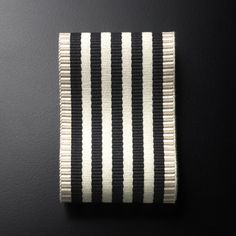 PIN026 Ribbon col. 001 by Dedar - Ribbon in cotton and linen, 90 mm
