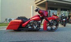 2010 Harley-Davidson Touring 26 Wheel Drop Seat Custom Bagger FLHX Street Glide - Gambrills